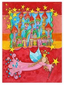 Märchenwelten für Kinderzimmer - Sternenstadt