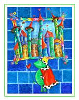 Kunst für Kinder Motiv: Der Froschkönig