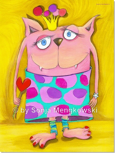 Frau Vonundzu - Serie: Pastellbilder Motive fürs Kinderzimmer