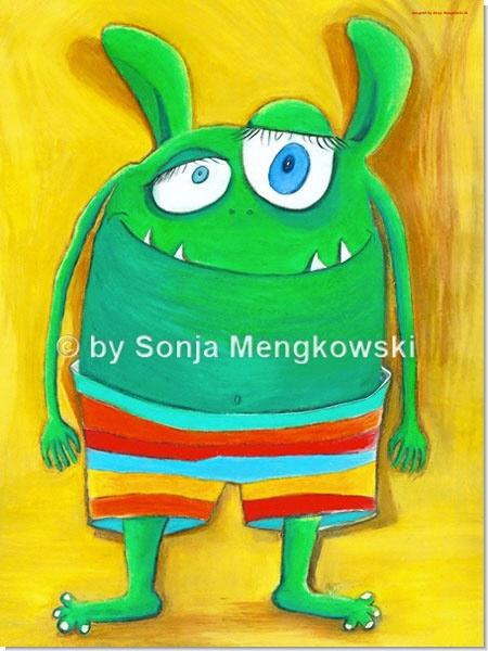 Herr Vonundzu - Serie: Pastellbilder Motive fürs Kinderzimmer