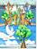 Aquarellbild-Land-des-Friedens