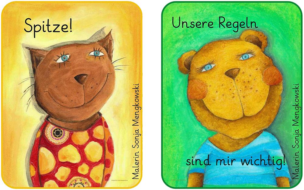 Sticker - Regel und Loben in der Grundschule