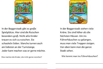 Unterrichtsmaterial Deutsch Abschreibtexte