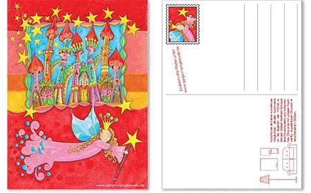 Unterrichtsmaterial Deutsch - Schreib- und Leseanlass Postkarten