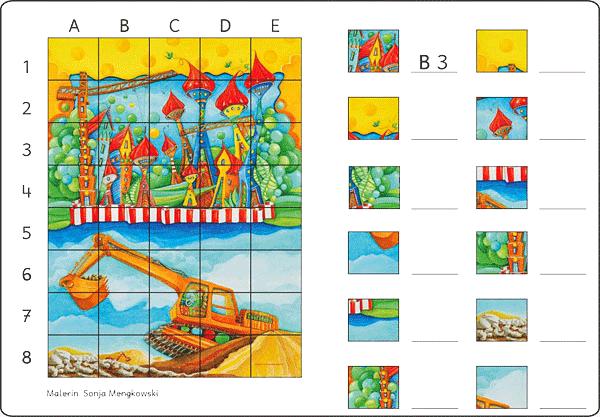 Unterrichtmaterial Deutsch Suchsel Baustelle