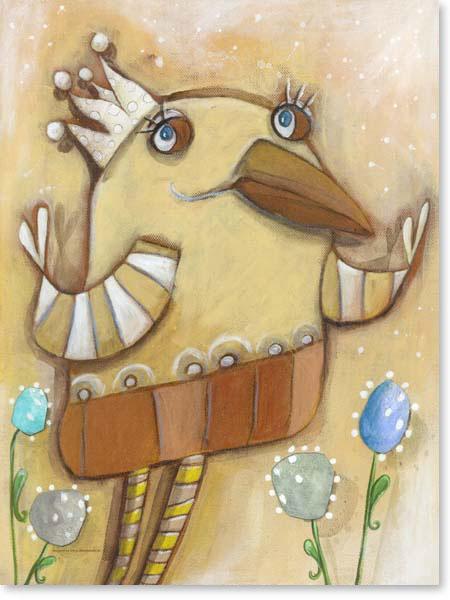 Acrylbild Carli Chocolate - Leinwandbild fürs Kinderzimmer