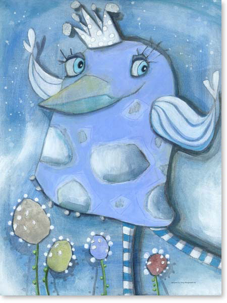 Acrylbild Emmy Ice - Leinwandbild fürs Kinderzimmer