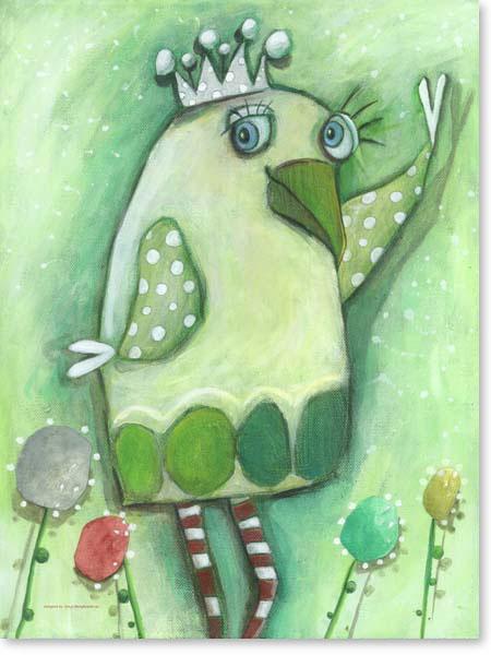 Acrylbild Gregor Green - Leinwandbild fürs Kinderzimmer