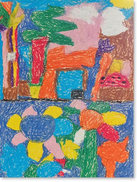 Kinderbild Motiv: Land und Natur von Elias S.