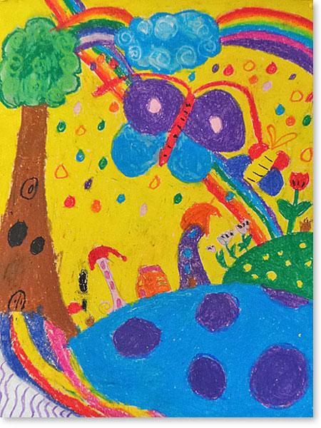 Kinderbild Motiv: Regenbogen von Emmelie T.