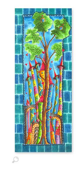 Wunderbaum - Serie: Aquarellbilder Motive fürs Kinderzimmer