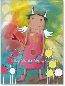 Schutzengel Bilder Geschenke für Kinder | Atelier BuntePunkt