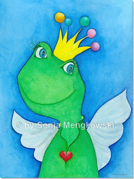 King of Angel - Serie: Pastellbilder Motive fürs Kinderzimmer