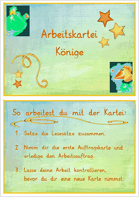 Unterrichtsmaterial Deutsch - Abstrakta Kartei