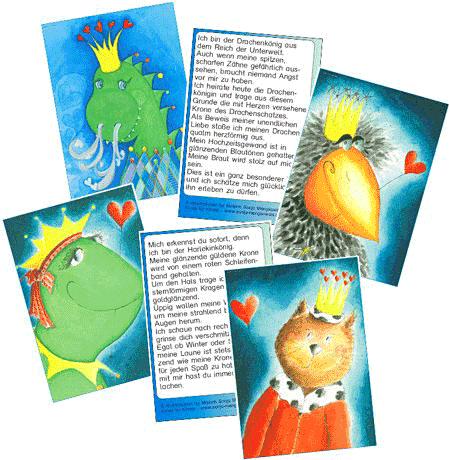 Unterrichtsmaterial Grundschule Schreib und Leseanlass Könige