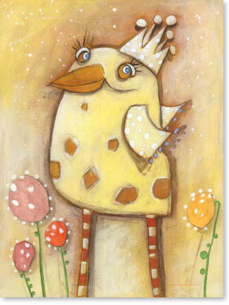 Acrylbild Ernest Yellow - Leinwandbild fürs Kinderzimmer