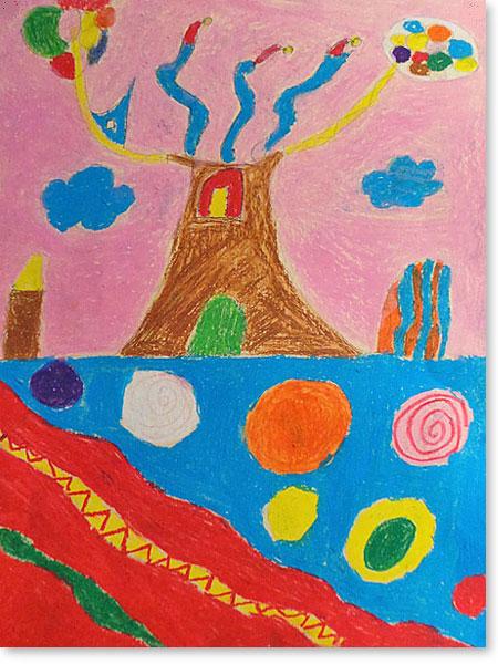 Kinderbild Motiv: Süßigkeiten von Ariam Y.