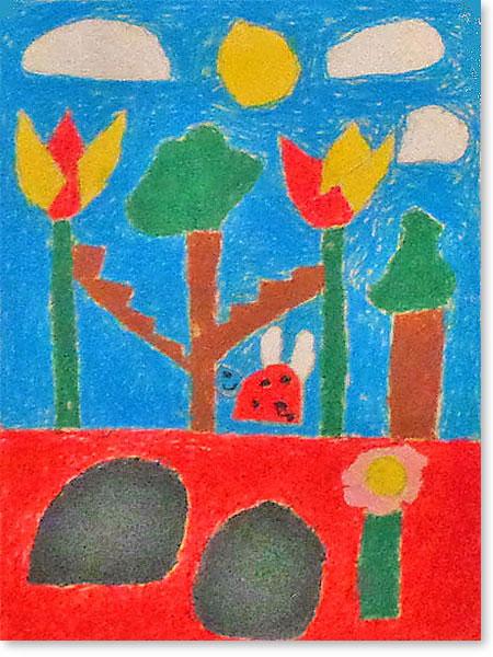 Kinderbild Motiv: Waldstadt von Karol S.
