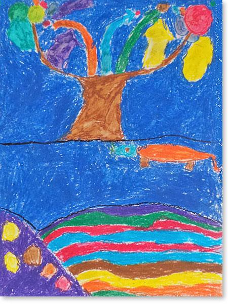 Kinderbild Motiv: Wasserstadt von Lars F.