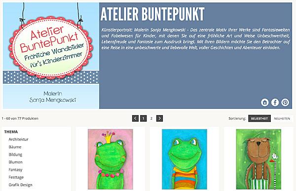 15 Jahre Posterlounge - Vorschau Galerie von Atelier BuntePunkt