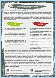 Nutzungsbedingungen für ClipArts