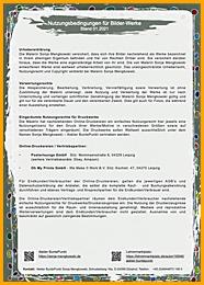 Nutzungsbedingungen für Bilder-Werke